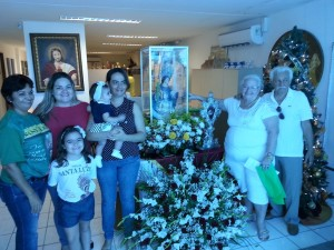 Imagem de Santa Luzia visita FACENE RN 03
