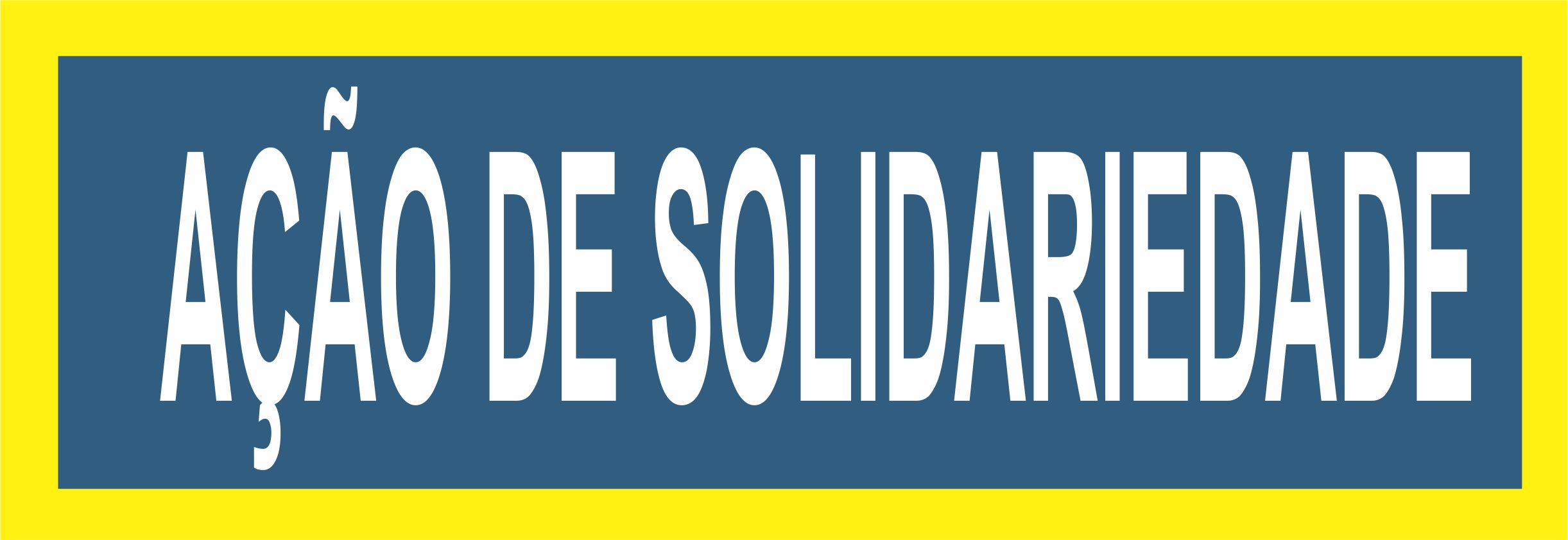 Ação de solidariedade é realizada por estudantes na penitenciária Mário Negócio