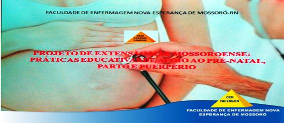 Projeto Mãe Mossoroense: Práticas Educativas de apoio ao pré- natal, parto e puerpério.