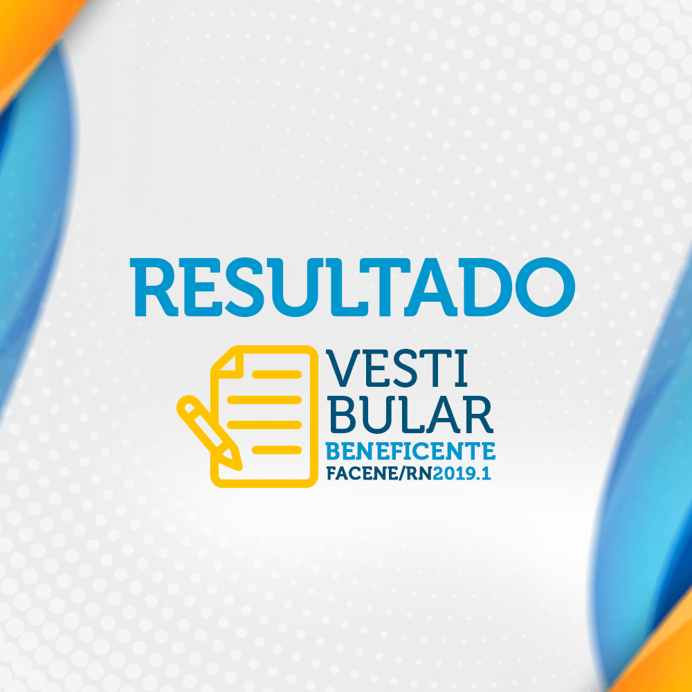 Resultado Vestibular Beneficente 2019.1