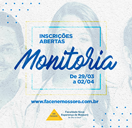 EDITAL Nº 11/2019 – SELEÇÃO PARA MONITORIA ACADÊMICA