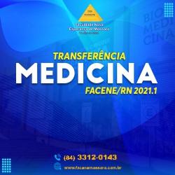 TRANSFERÊNCIA EXTERNA MEDICINA 2021.1 – COMUNICADO DE ALTERAÇÃO DE DATA