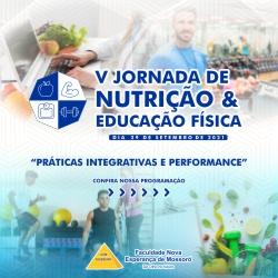 V – Jornada de Nutrição e Educação Física da FACENE/RN